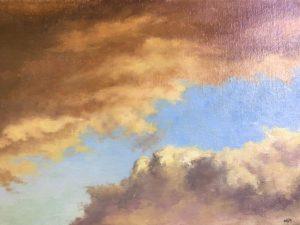 Storm's A'Comin' - 12x16 - $400