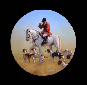 The Fox Hunt_2 x 2inches_$575