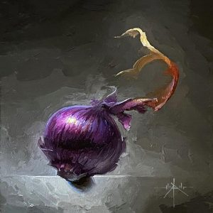 Red Onion_6x6_oil_$700