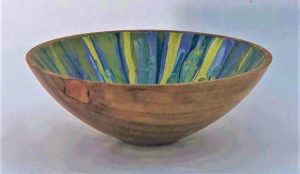 Carnival Eucalyptus Bowl side 2