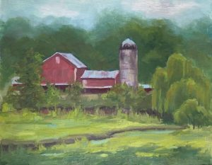 A Maryland Farm_oil_11 x 14_$450
