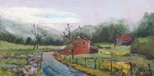 Cumberland Beauty; Oil; 10x20 in; $1,250