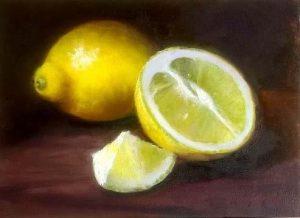 lemons2 6x5 oil on panel $250