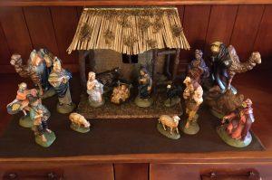 Bill and Marge Bowen's Nativity Set