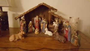 Rick and Sandy Losemann's Nativity Set