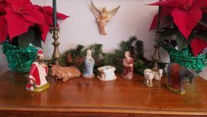 Meredith and Alan Leroy's Nativity Set