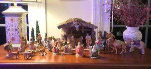 Betsy and Erik Moran's Nativity - the boys liked the elephant