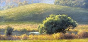 A Warm Touch_ 12 X 24_oil_$1400