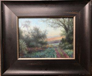 Blue Dawn 6x8 12x14 Oil $500