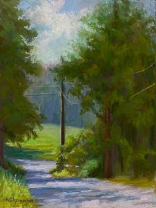 Country Road_9 x 12_soft pastel_$450