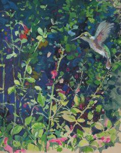 Hummingbird 12x16 $400.