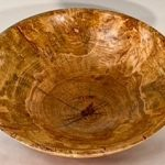 Maple burl and truquoise bowl 4 1:4 x 16 $600