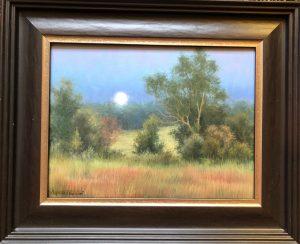 Moon Rising 9x12 14x17 Oil 1000