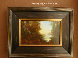 Morning Fog, 6x9 ,$200.