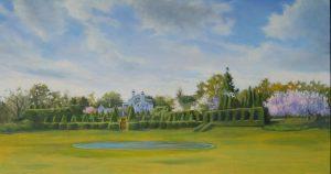 Spring, Ladew Gardens 13x24 $900