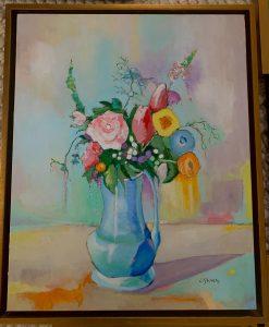 Summer Bouquet 16 x 20 $525