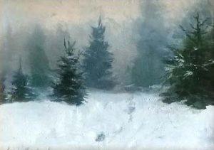 Winter Path 5x6 $400